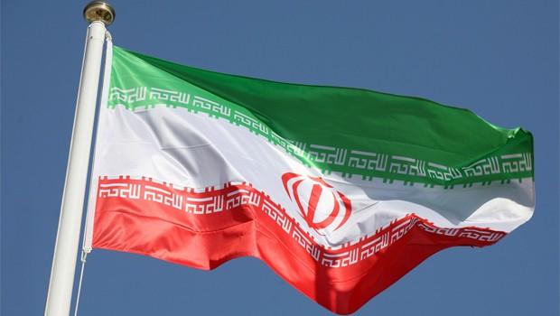 irán flag