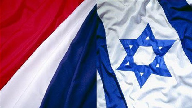 izrael francia zászló