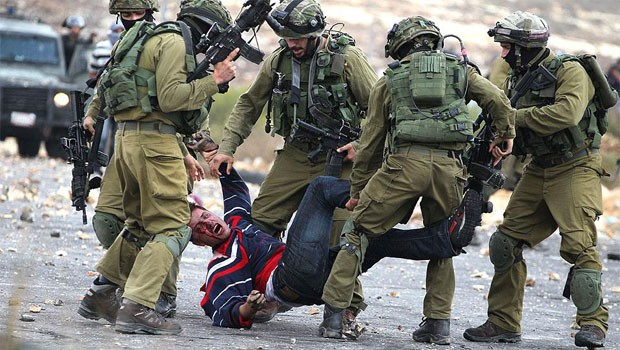 izraeli katonák palesztin
