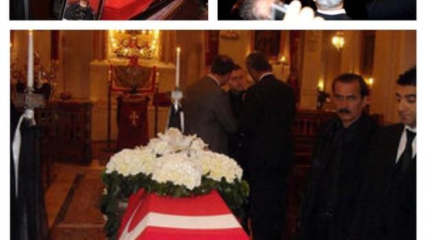 Keresztény  török katona temetése