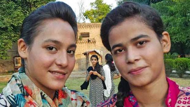 pakisztáni lányok