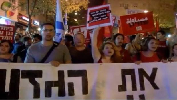 palesztin izraeli béketüntetés
