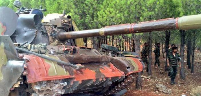 syria army tank