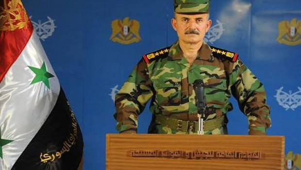 szíriai katonatiszt
