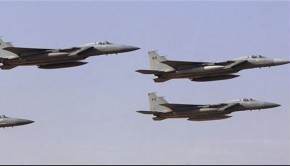 szaúdi vadászgépek