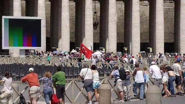 Török keresztények Vatikánban