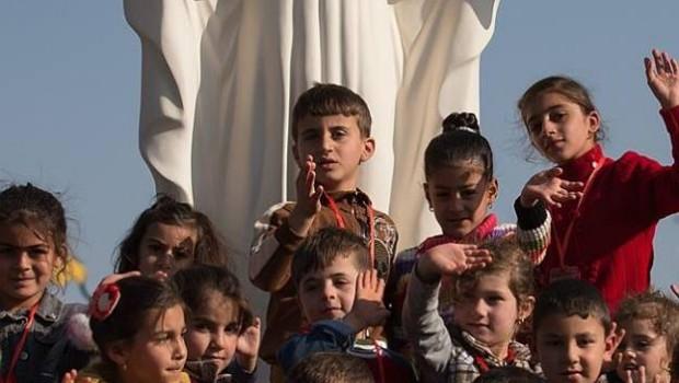 Török keresztény gyerekek
