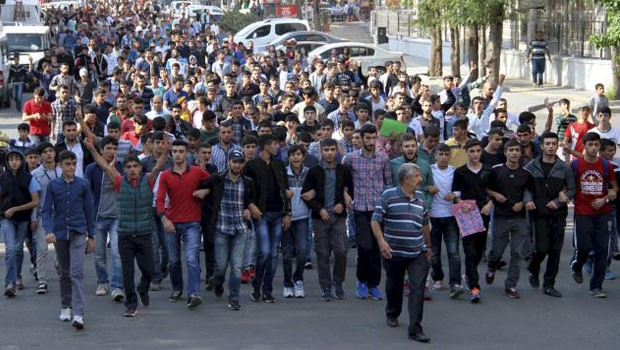 tüntetés kurd törökország