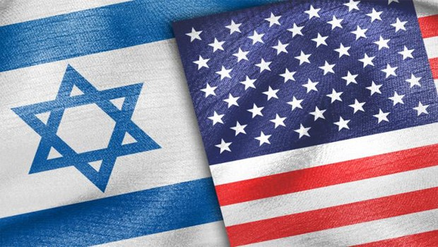 usa izrael flag