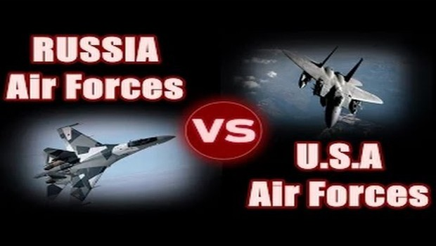 usa vs russia air force