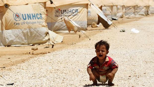 zaatari tábor