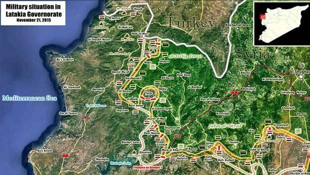 lattakia térkép