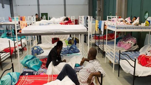 menekültek németország