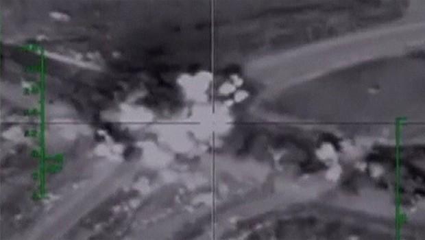 orosz légicsapás isis ellen