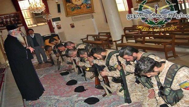szír keresztény katonák
