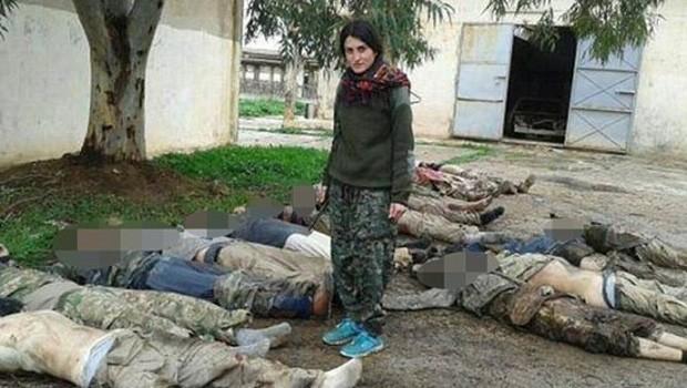 widad asszír keresztény harcos