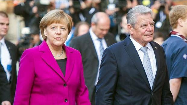 Joachim Gauck Angela Merkel