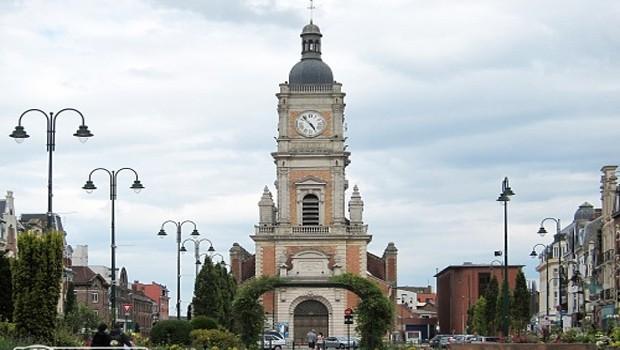 Lens Franciaország templom