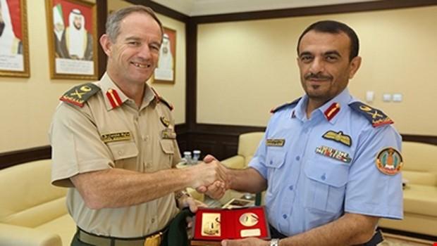 ausztrál katonatiszt