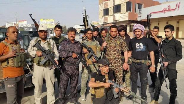 iraki szunnita harcosok