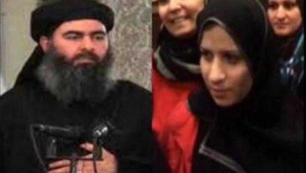 isis kalifájának felesége