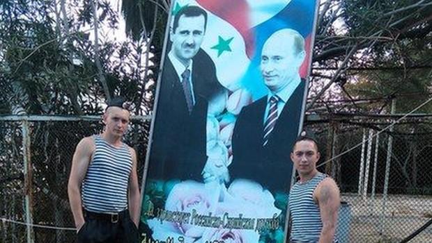 orosz katonák Szíriában