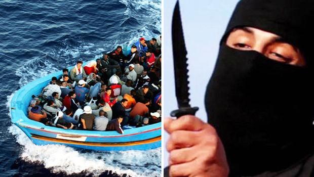 terroristák a menekültek között