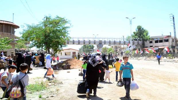Al-Kadam lakossága visszatér