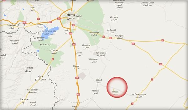 homsz térkép