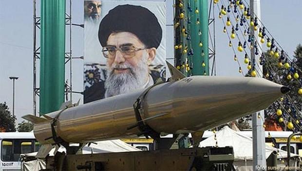 iráni rakéta