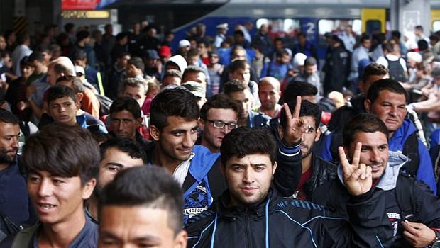 menekültek ausztria