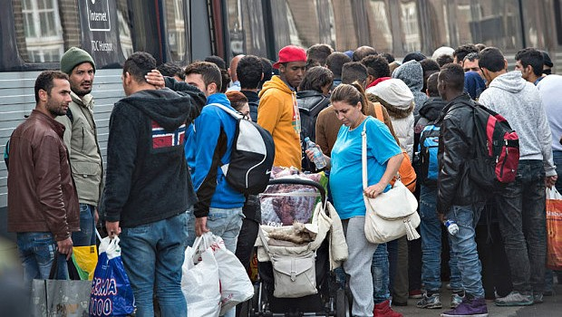 menekültek svédországban