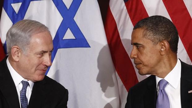 obama vs netanyahu