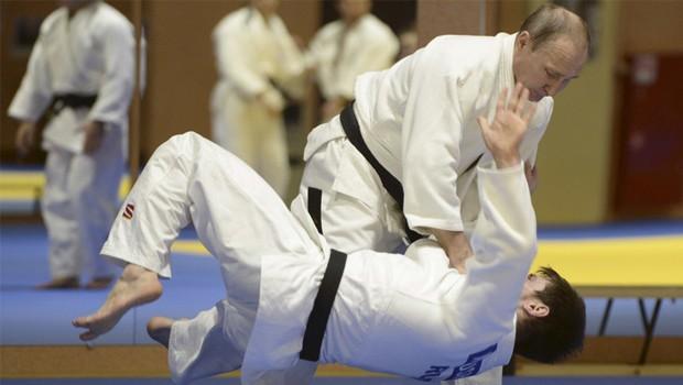 putyin judo