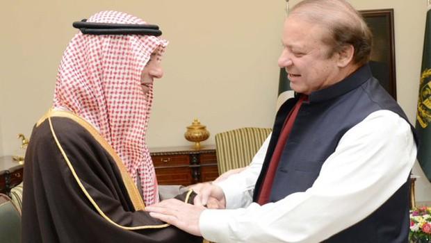 suadi jubair pakistan sharif