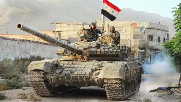 syria army tank salma