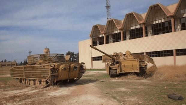 szíriai tankok