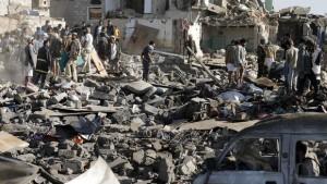 szaúdi támadás jemenben