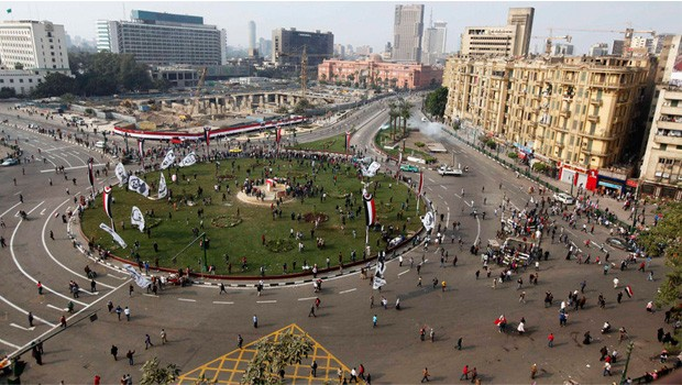 tahrir tér egyiptom