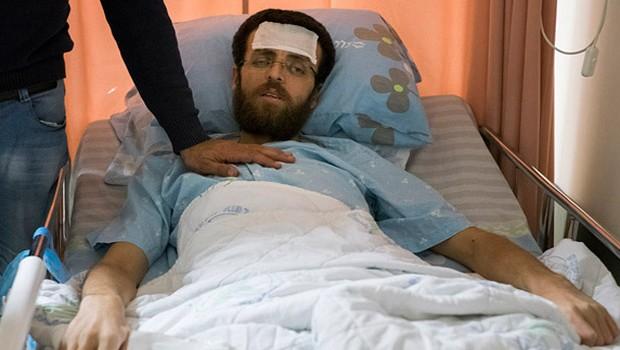 éhségsztrájkoló palesztin újságíró