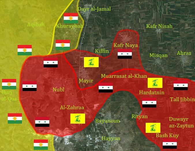 észak aleppo kurdok és szírek