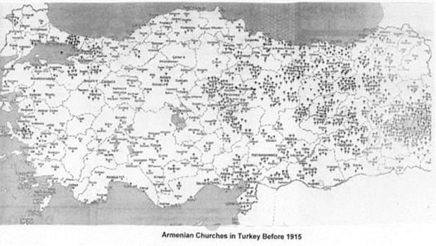 örmény templomok törökországban