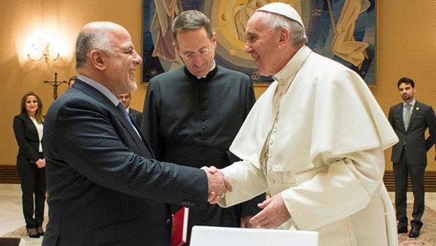 ferenc pápa haider al-abadi