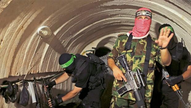 gáza alagút hamasz