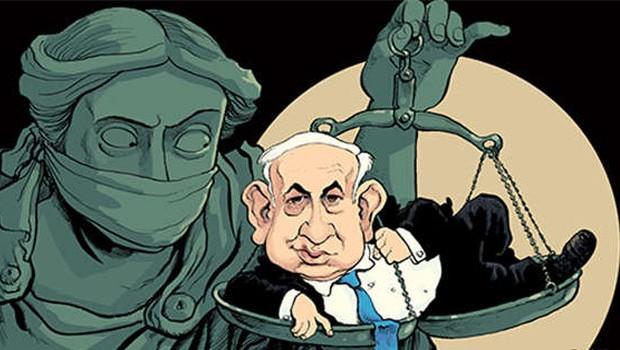 netanyahu bíróság