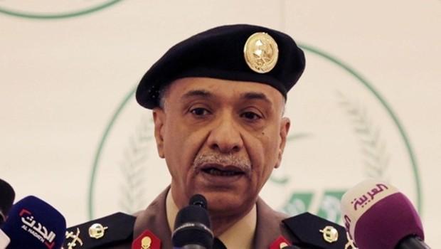szaúdi belügyi szóvivú