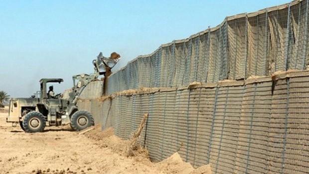 tunézia határkerítés