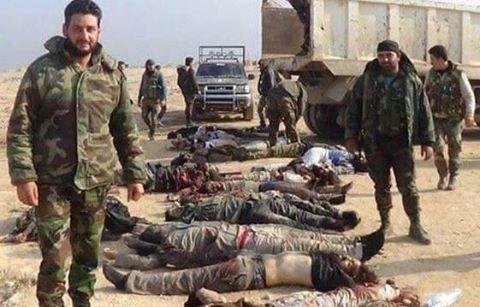 A Sivatagi Sólymok a menekülő terroristákra vadásznak