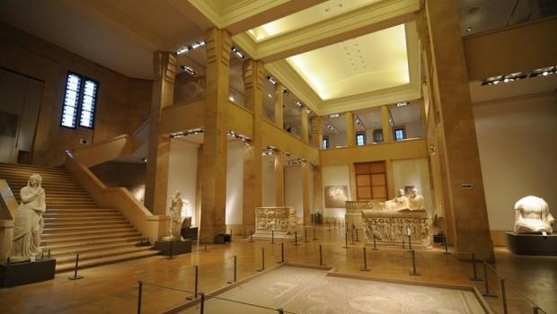 A libanoni nemzeti múzeumban