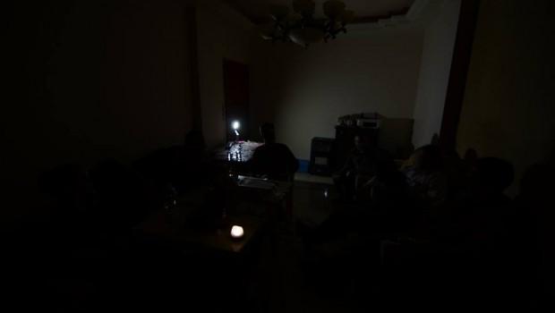 A rendszeres áramszünet első pillanatai